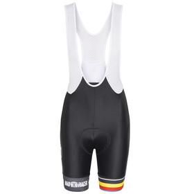 Bioracer Van Vlaanderen Pro Race Spodenki na szelki Kobiety czarny